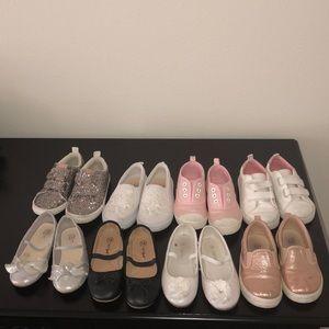 Bundle gap / Carter's / cat and jack girls shoes